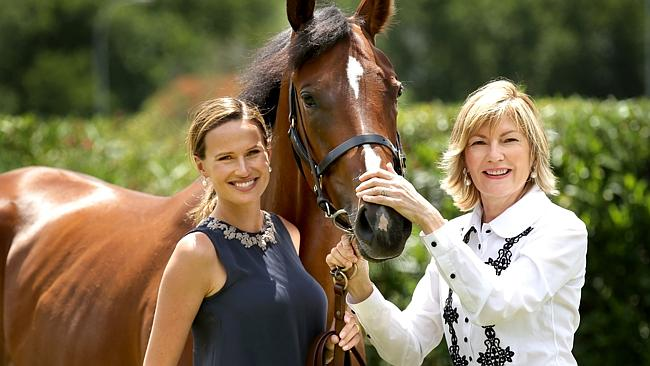 Francesca Cumani and Katie Page