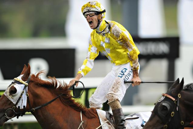 Hugh-Bowman-is-jubilant-as-Criterion-outlasts-them-in-the-Derby-1397281556_n